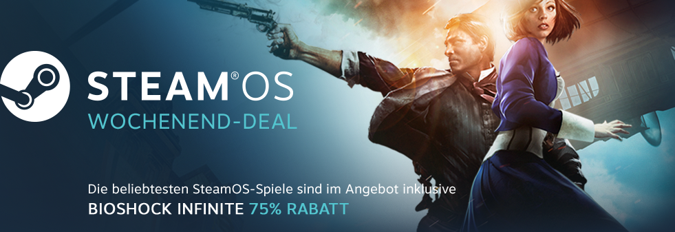 SteamOS Weekend Deal